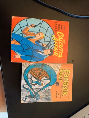1960's comics, fantastic four, the man from uncle for Sale in West Sacramento, CA