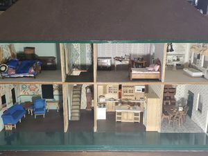 Fully restored antique handmade dollhouse for Sale in Edmonds, WA