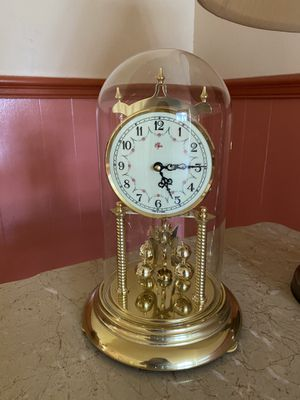 Antique Clock in Glass Dome for Sale in San Diego, CA