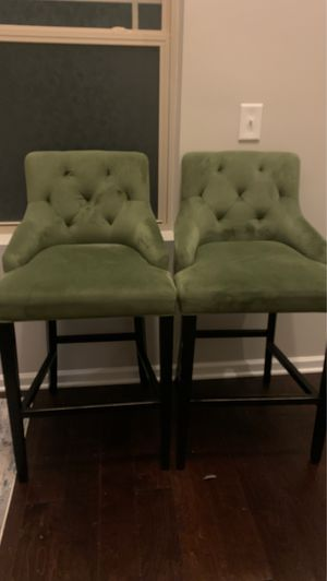 World Market Tufted Lydia upholstered counter stool for Sale in Durham, NC