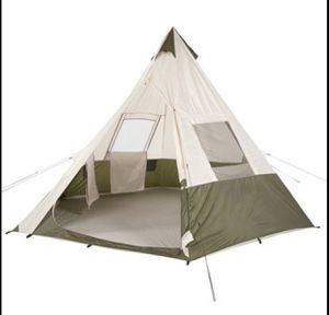 Ozark Trail 7-Person Teepee Tent without Center Pole Obstruction for Sale in Frisco, TX