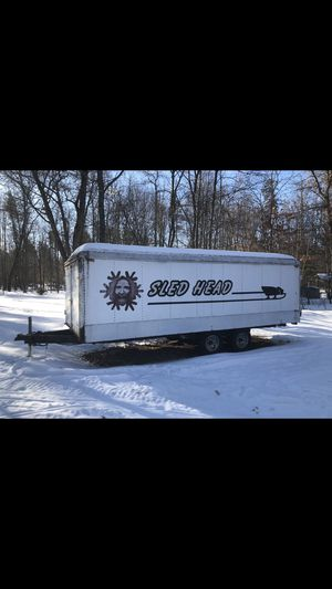 Enclosed trailer with ramps for Sale in Eagle River, WI