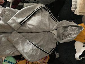 Adidas fleece zip up hoodie for Sale in Everett, MA