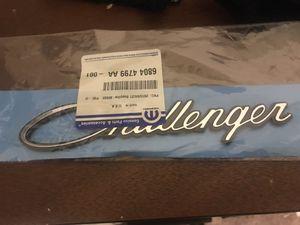 Dodge Challenger script badge for Sale in Norfolk, VA
