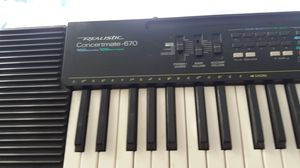 Realistic Concertmate-670 Keyboard for Sale in Federal Way, WA