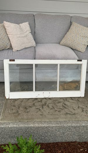 Shabby chic antique window frame for Sale in Yelm, WA
