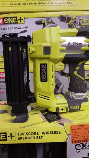 RYOBI 18V CORDLESS 18 GA FINISH NILER TOOL ONLY LIKE NEW for Sale in San Bernardino, CA