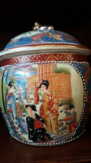 Chinese Pot w/ Lid for Sale in La Verne, CA