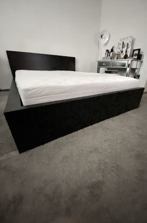Ikea Full Size Bed Frame & Mattress for Sale for sale  Marietta, GA