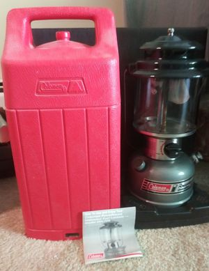 Vintage Coleman 295 unleaded Lantern for Sale in Madison, WI