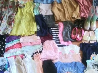 Size 10 Girls Clothing Lot Size 2 Shoes for Sale in Vancouver,  WA