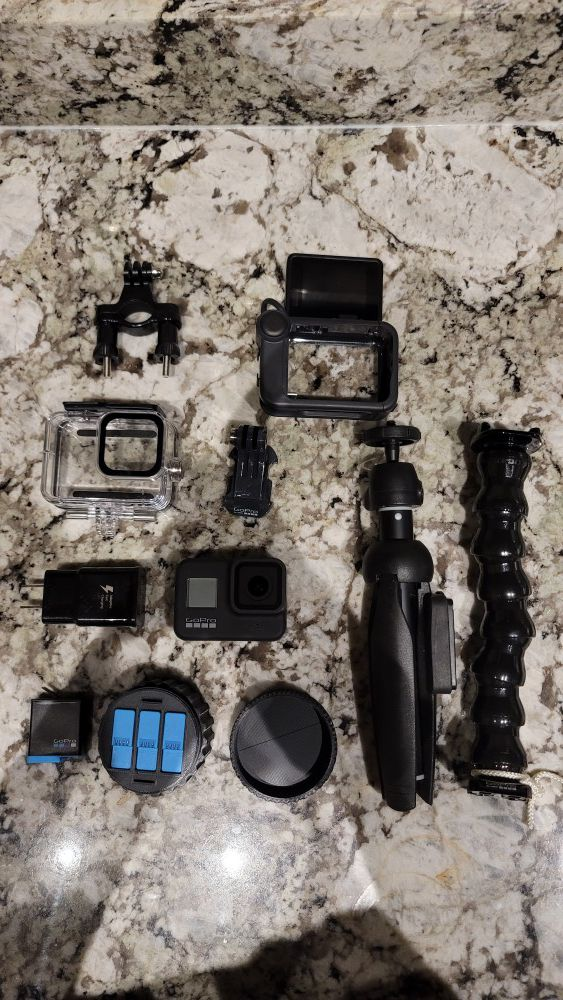 GoPro 8 package. All works just fine. Just looking to upgrade to the 9