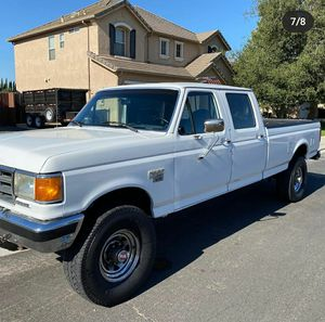 1990 ford f350 diesel 4x4 for Sale in Modesto, CA