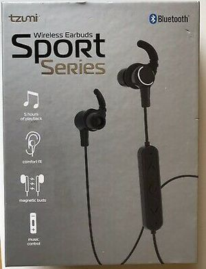 Bluetooth Sport Series Wireless Magnetic Earbuds Audio Microphone for Sale in Houston, TX