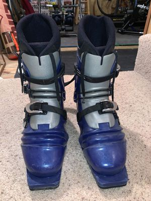 Skatepark telemark ski boots for Sale in Traverse City, MI