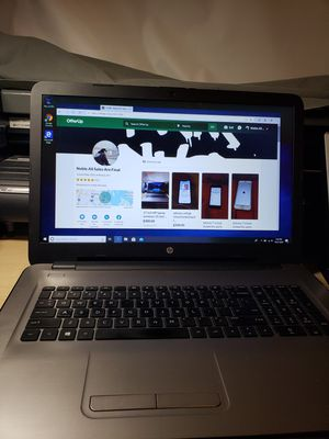 17 inch HP laptop windows 10 intel i3 HDD 1TB RAM 6GB for Sale in The Bronx, NY