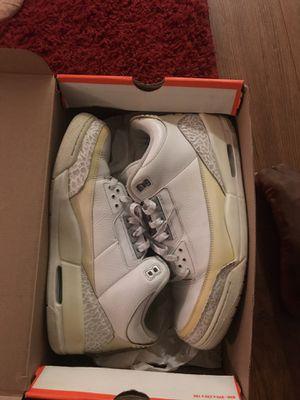 Jordan retro pure money 3s SIZE 13 for Sale in DEVORE HGHTS, CA