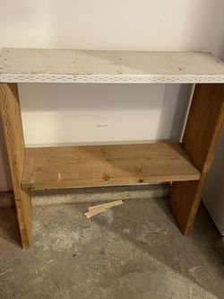 Wood Shelf Stand for Sale in Kent,  WA