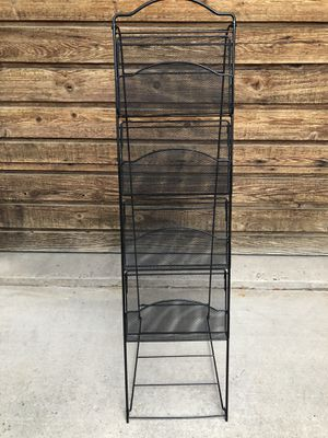 Metal 4 Basket Magazine Rack for Sale in Parker, CO