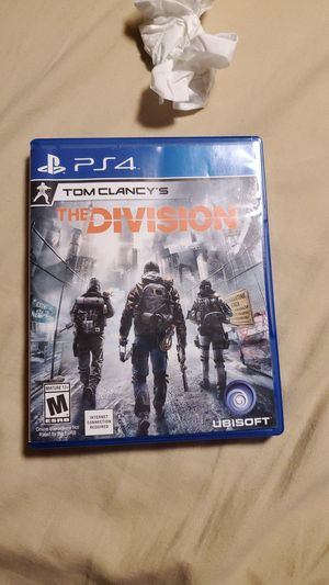 The division ps4 open box never used for Sale in Las Vegas, NV