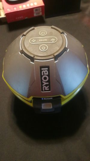 Ryobi floating Bluetooth speaker for Sale in CORP CHRISTI, TX