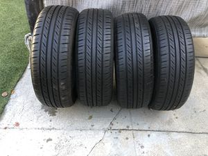 195/65/15 (4) Used Tires 80% tread for Sale in Los Angeles, CA