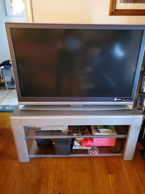 Sony tv and stand for Sale in Hampton, VA