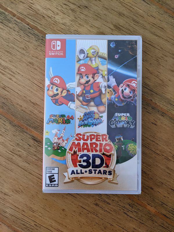 Super Mario 3D All Stars Limited Edition Brand New!