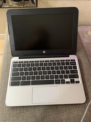 HP Chromebook 11 G3 11.6 Intel Celeron N2840 16GB for Sale in Hesperia, CA