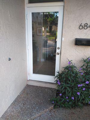 36x80 full view glass door panel for Sale in Oakland Park, FL