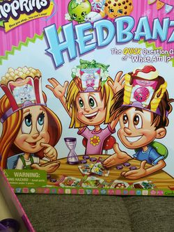 Shopkins Headbanz Game for Sale in Lawndale,  CA
