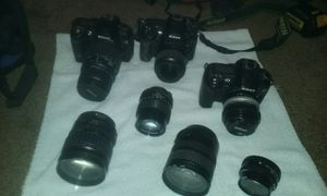 Nikon cameras and lenses for Sale in Seattle, WA