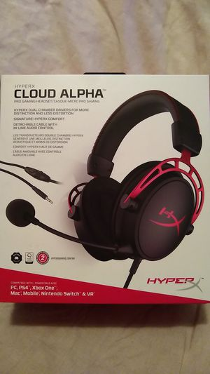 HyperX Cloud Alpha Gaming Headset - Red for Sale in Thonotosassa, FL