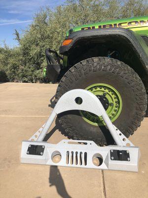 Jeep wrangler stinger front bumper for Sale in Scottsdale, AZ