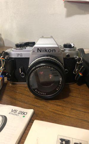 Nikon 35mm SLR (FG) FILM camera for Sale in New York, NY