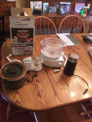 Group of Kitchen Appliances - $20.00 for all for Sale in St. Louis, MO