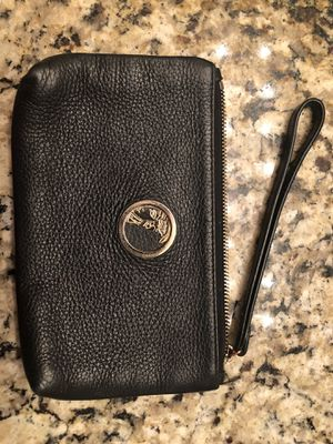 Versace Collection Black Leather Clutch for Sale in Henderson, CO