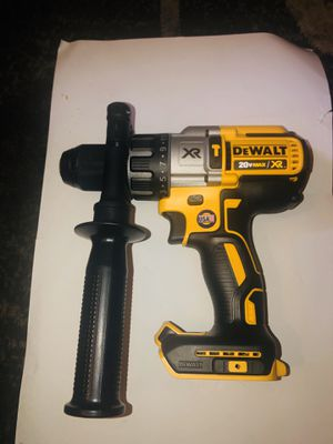 Dewalt 20-Volt MAX XR 1/2 in. Premium Brushless Hammer Drill (Tool-Only) for Sale in Columbus, OH