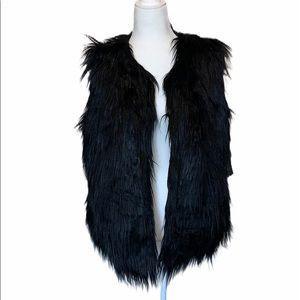 Black Faux Fur Vest for Sale in Portland, OR