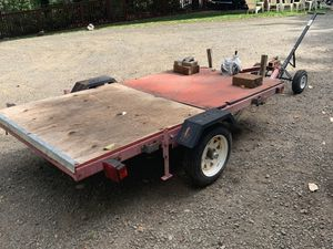 Utility trailer with dolly for Sale in Port Orchard, WA