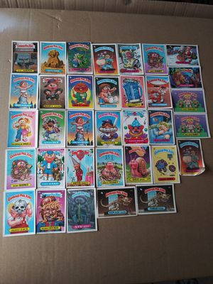 33 (RARE)1980s Garbage Pail Kid cards for Sale in Oklahoma City, OK