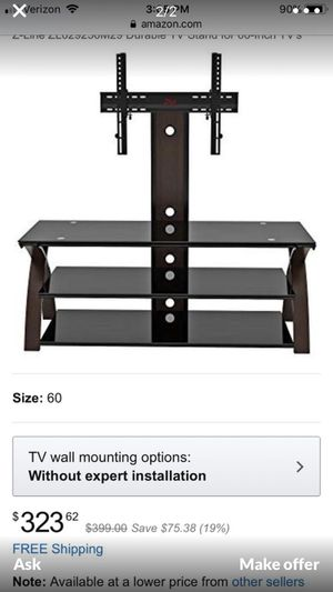 Brand new glass tv stand for Sale in Manchester, CT