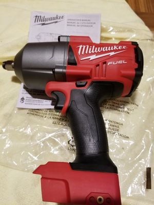 """Milwaukee 1/2"""" Impact Wrench Brushless Fuel 1400lbs M18 for Sale in Norwalk, CA"""