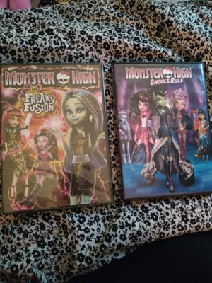 Monster high dvds for Sale in Stockton, CA