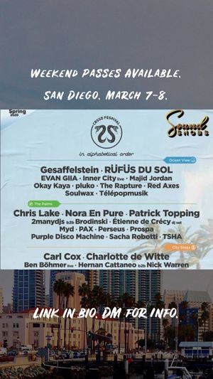 CRSSD Spring 2020 Weekend Pass for Sale in Los Angeles, CA