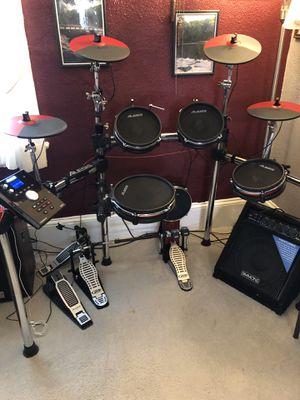 Elect Tronic drum set complete for Sale in Mount Laurel Township, NJ