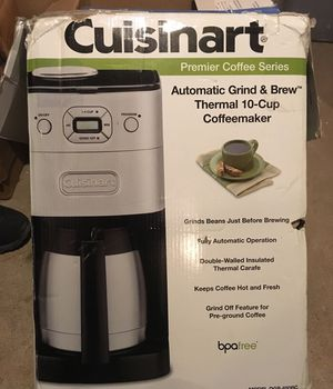 Cuisinart automatic grind and brew coffee maker NO POT for Sale in Philadelphia, PA