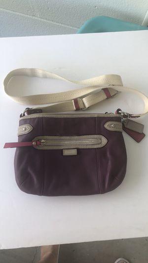 Coach Rare purple crossbody/shoulder bag for Sale in Spring Hill, FL