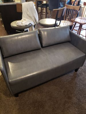 Gray couch small for Sale in South Salt Lake, UT