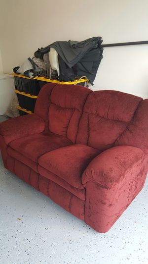 1 loveseats one couch both with recliners for Sale in Tacoma, WA